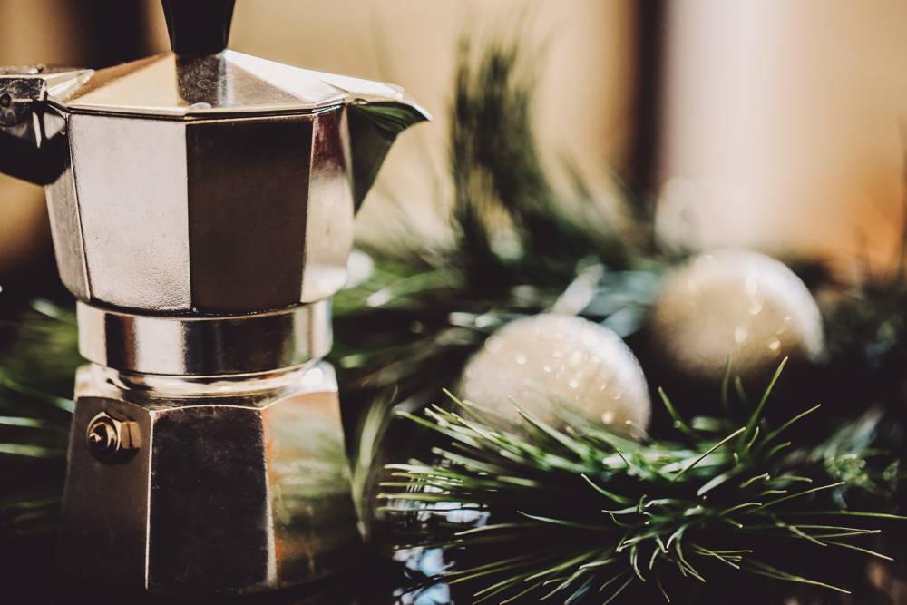 Bialetti Espresso für die Plätzchen