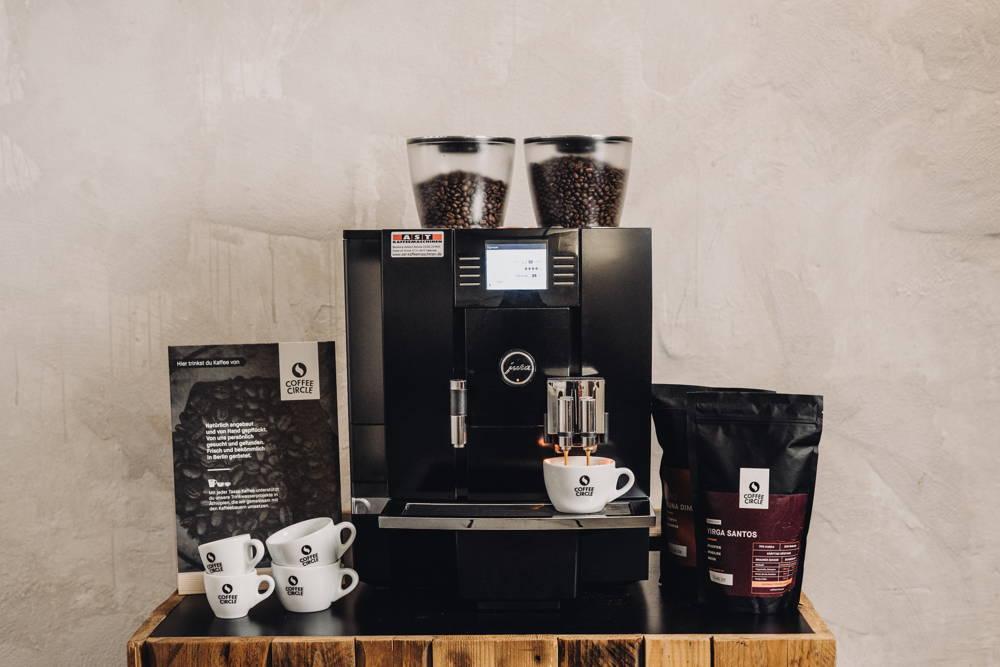 Frischer Espresso