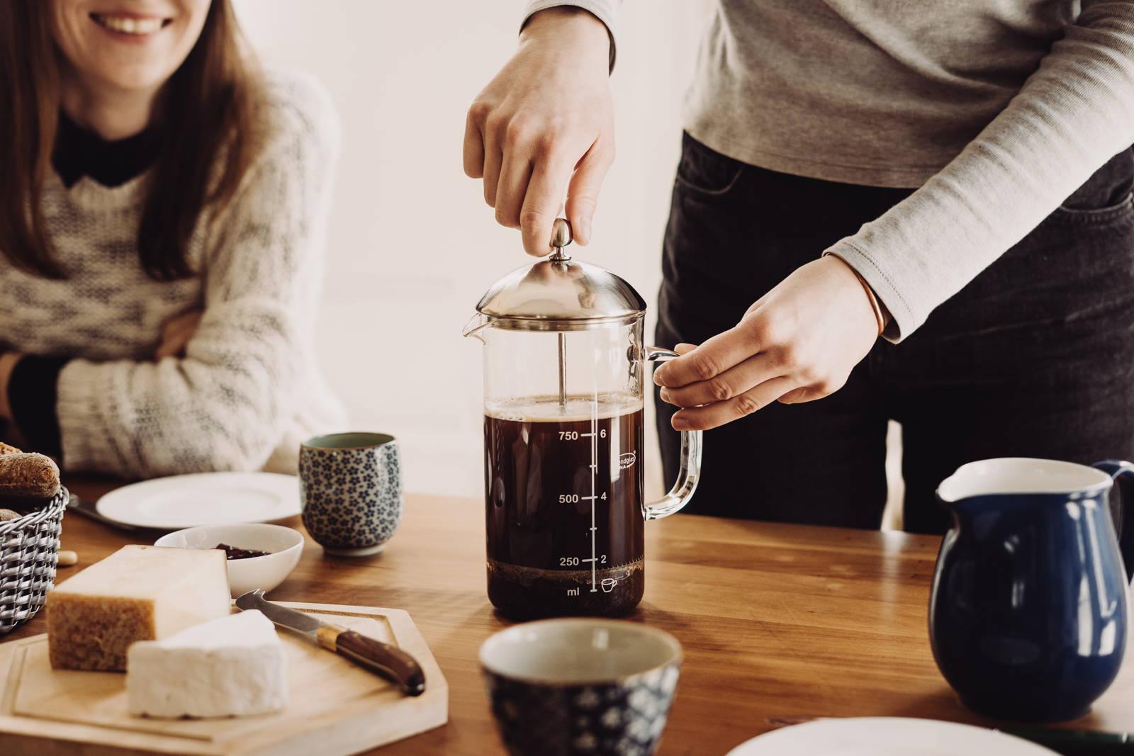 Kaffeezubereitung mit der French Press