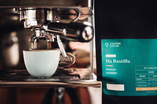 Da Bastilla Espresso und QuickMill Espressomaschine