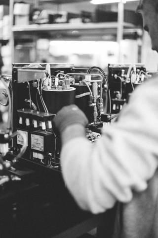 Manueller Bau einer ECM Espressomaschine
