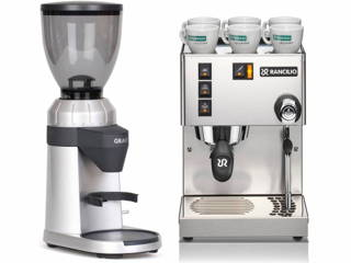 Rancilio Silvia & Graef Espressomühle