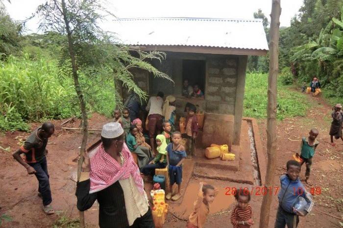 Fortschritte beim Trinkwasserprojekt