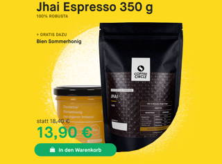 Jhai Espresso 100 % Robusta