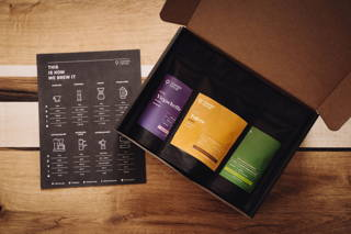 Probierpaket Filterkaffee und der Brew Guide