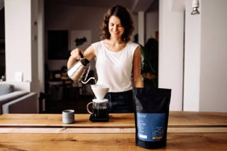 Karibu Filterkaffee aufbrühen mit dem Hario Handfilter