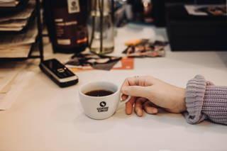 Kaffee steht immer bereit