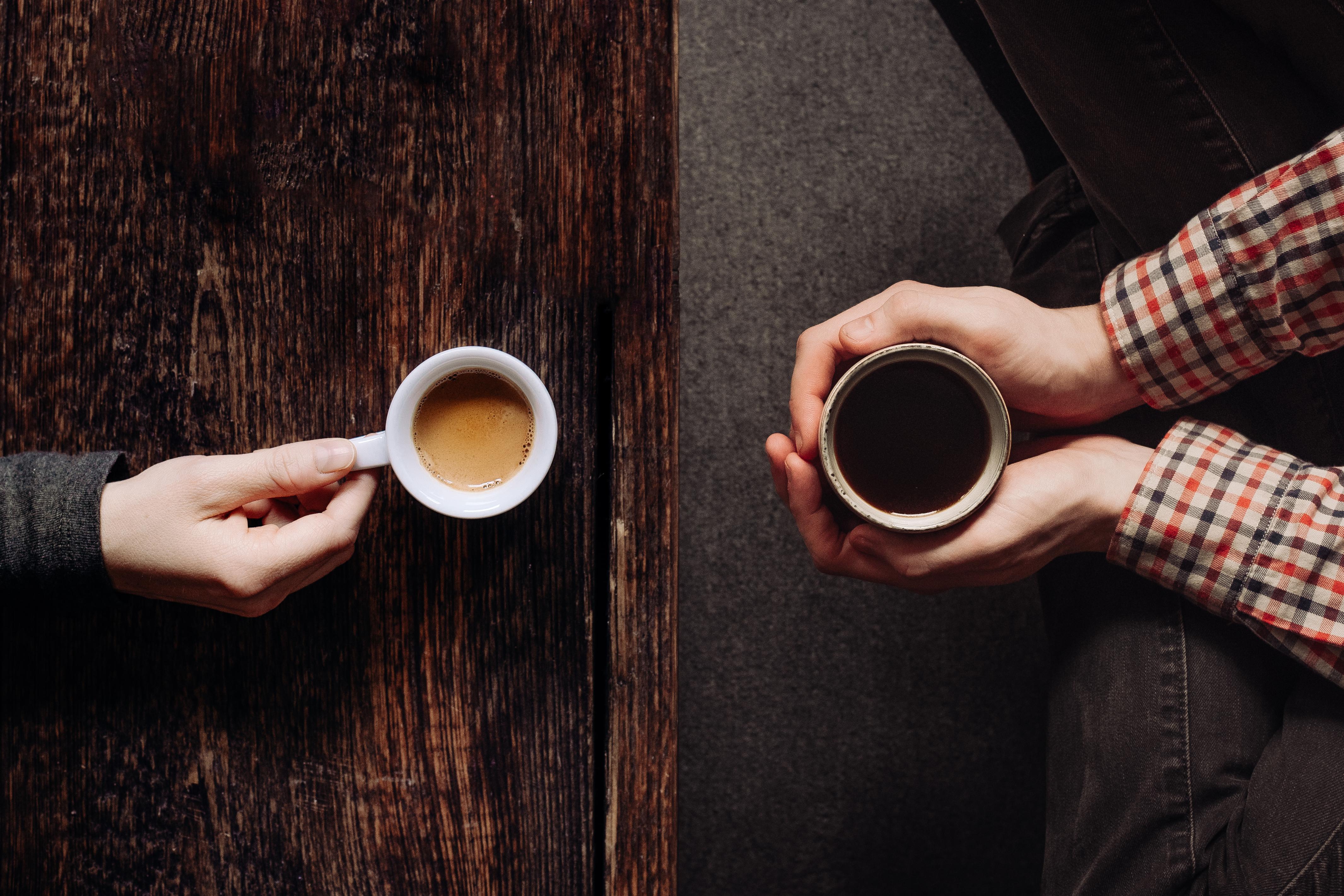 Unterschied Filterkaffee und Espresso