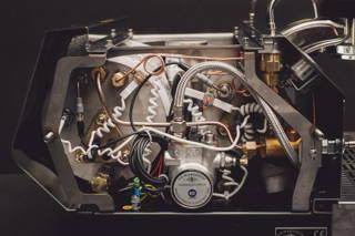 Espressomaschine Innenansicht