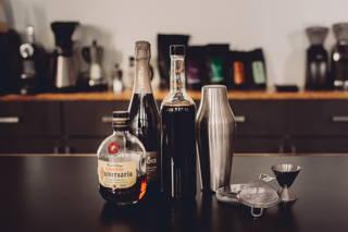 Rezeptidee für einen leckeren Cocktail mit Kaffee