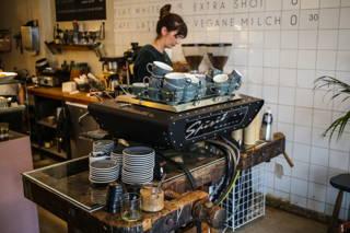 Kaffee in der Zubereitung