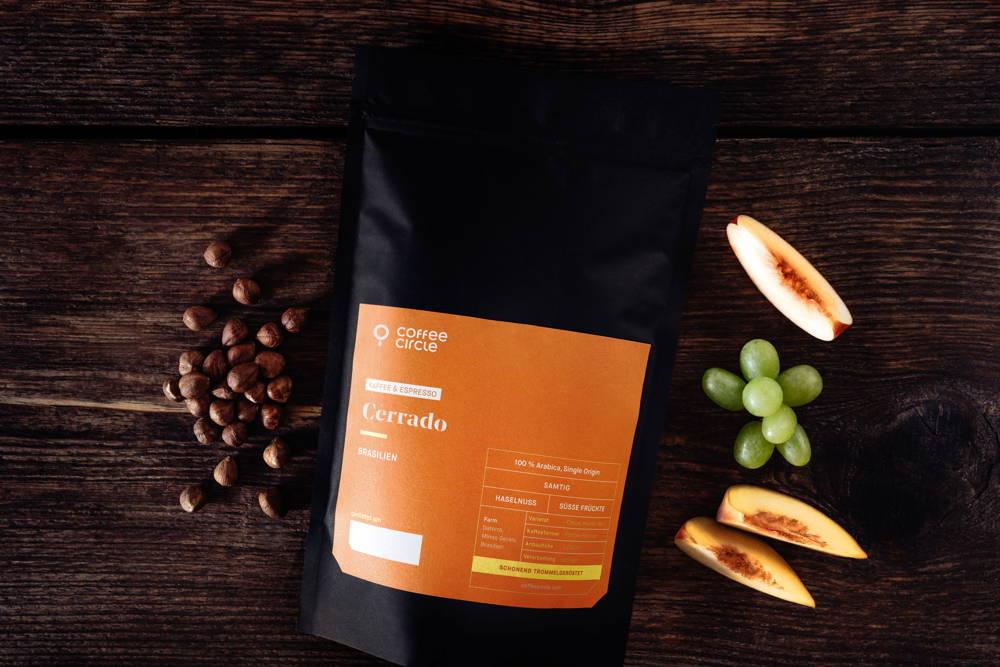 Cerrado Omniroast Filterkaffee und Espresso Aromen