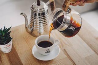 Filterkaffee im Handfilter
