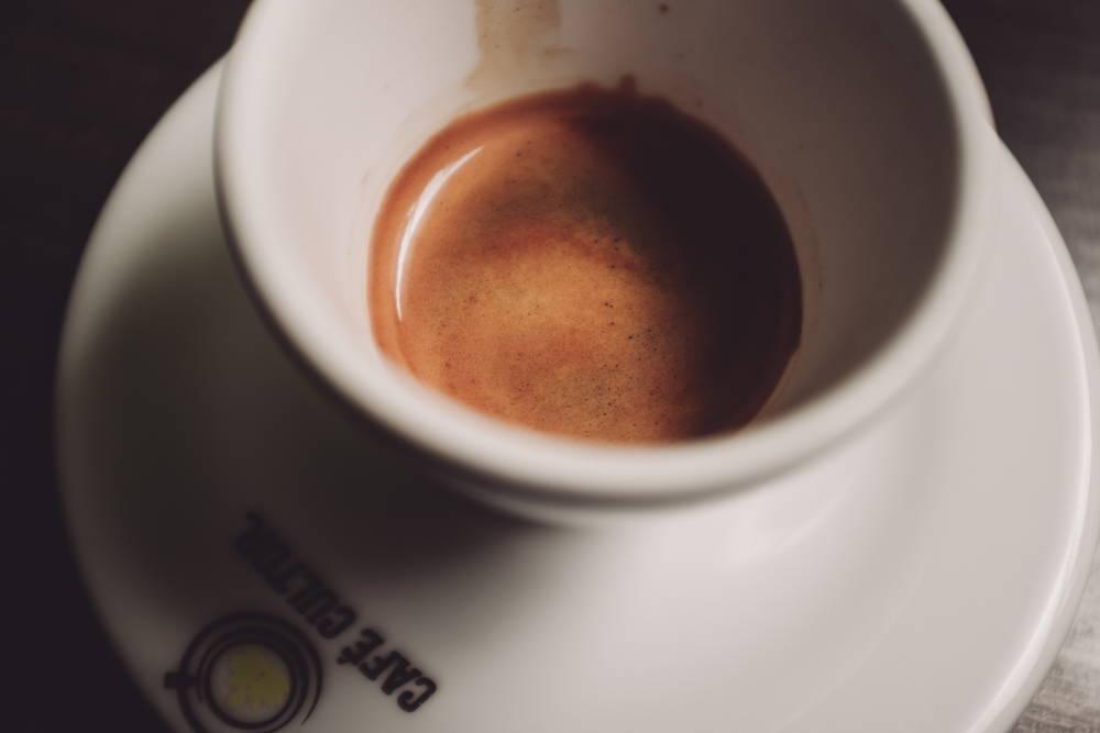 Der Espresso im Café Cultor ist auf jeden Fall einen Besuch wert