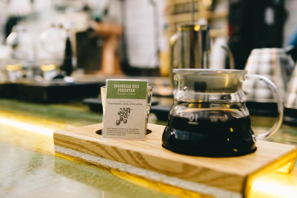 Filterkaffee aus Indonesien