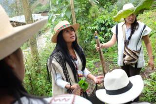 Zu Besuch in Kolumbien