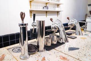 Die Espressomaschine
