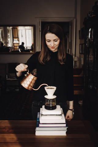 Kaffee aus dem Handfilter