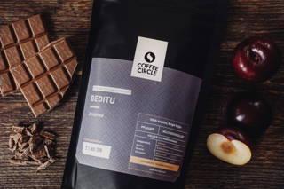 Unser Beditu Espresso erhält durch die Aromen von Pflaume und Milchschokolade einen unverwechselbaren Geschmack