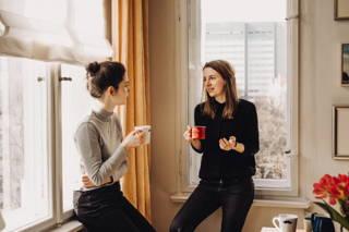 Die beste Zeit für gute Gespräche