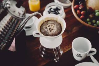 Coffee Circle Kaffee, Hario v60