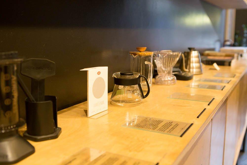 Filterkaffeeoptionen