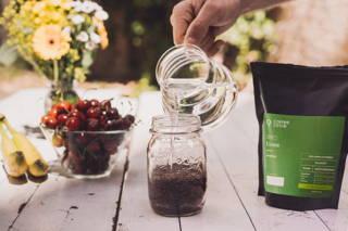 Limu Filterkaffee als Cold Brew im Sommer im Brewjar