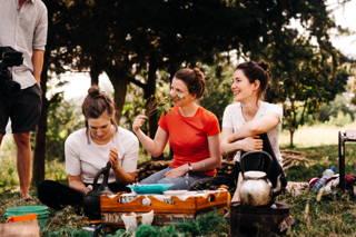 Julia, Anna und Katrin in Äthiopien