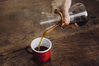 Ein Klassiker: Kaffee aus der Chemex