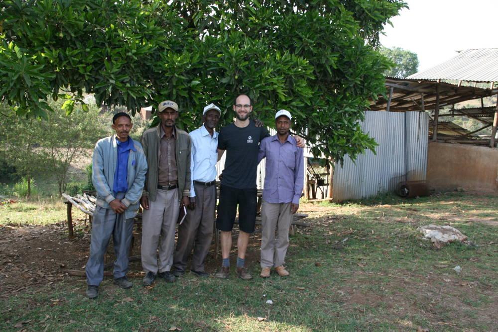 Hannes zu Besuch in Äthiopien