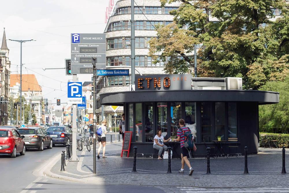 Etno Café in Breslau