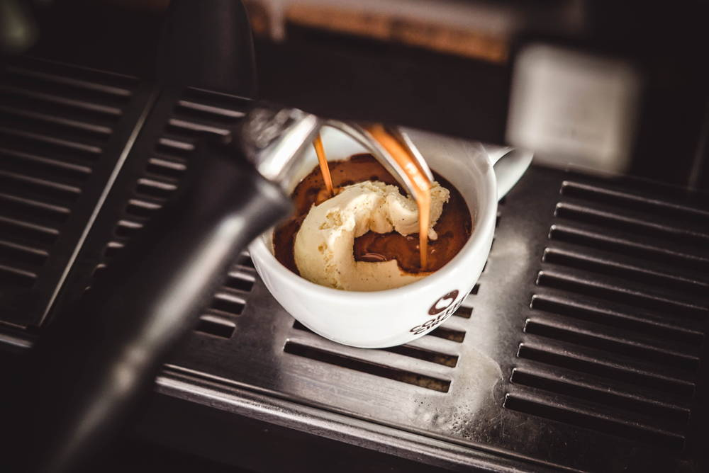 Espresso on Ice Affogato