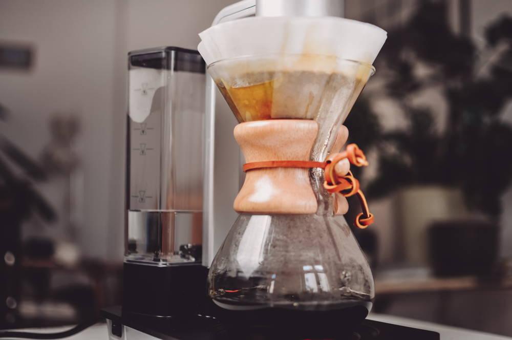 Kaffeezubereitung mit der Chemex Ottomatic