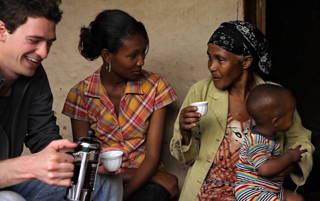 Auf eine Tasse in Äthiopien