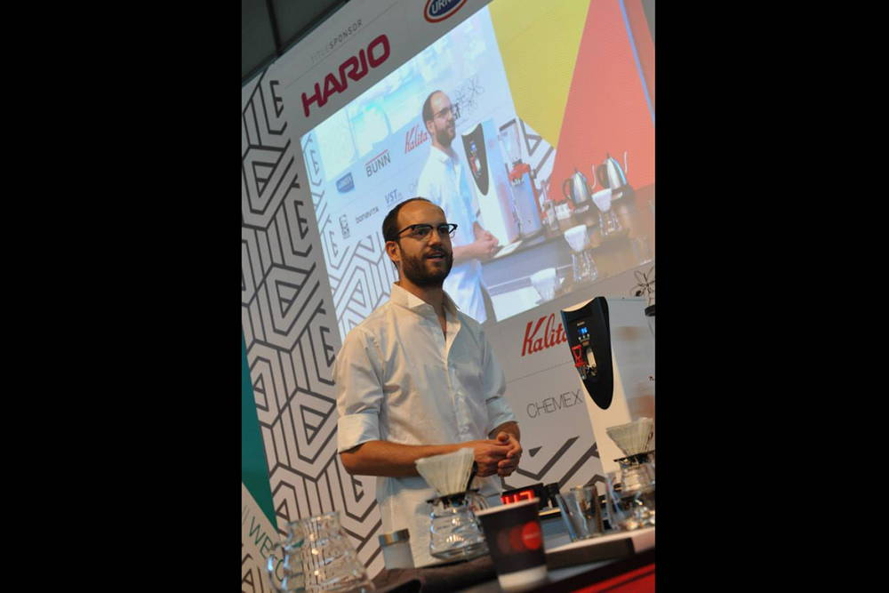 Coffer Circle beim World Brewers Cup in Rimini