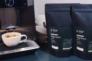Tiga Terra Kaffee und Espresso für Vollautomaten in der Siemens Maschine