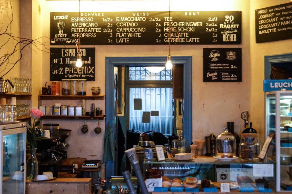 Leuchtstoff Kaffeebar