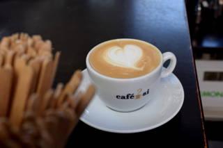 Latte Art im Barischda