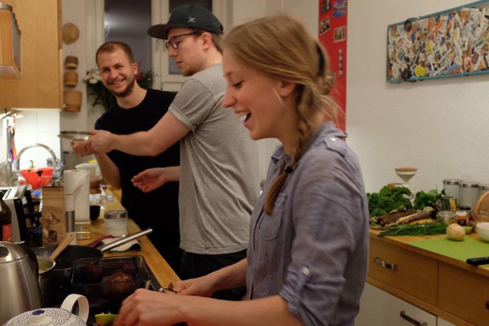 Kochen unter Kollegen