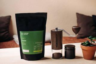 Limu Filterkaffee gemahlen in der Comandante