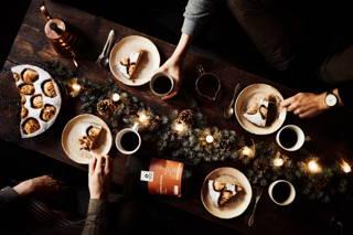 Weihnachtlicher Kaffeeklatsch