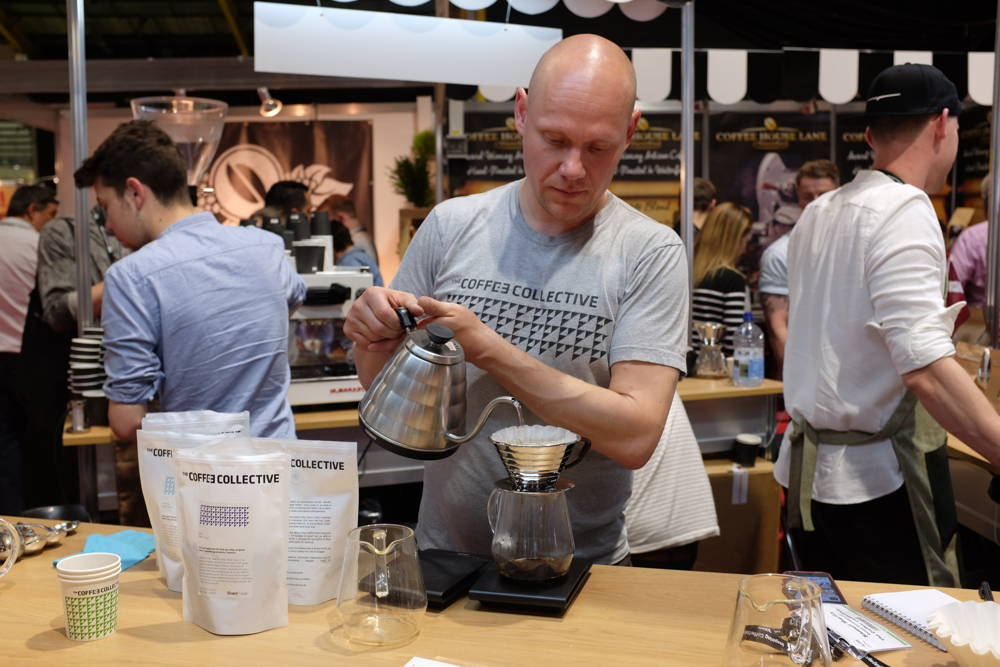 Coffee Cirlce bei der World of Coffee in Dublin
