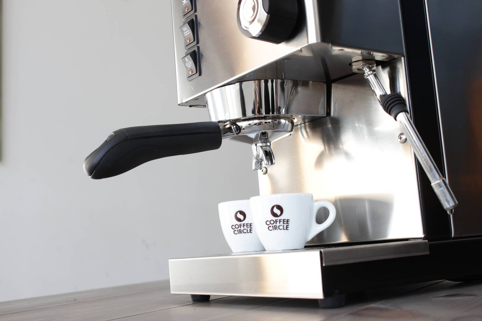 bedienungsanleitung der rancilio silvia coffee circle. Black Bedroom Furniture Sets. Home Design Ideas