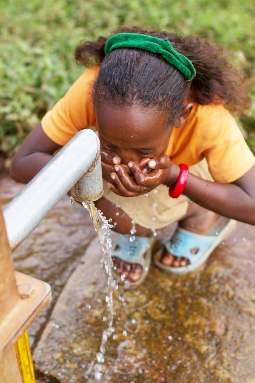 Sauberes Trinkwasser durch die Homecha Quelle