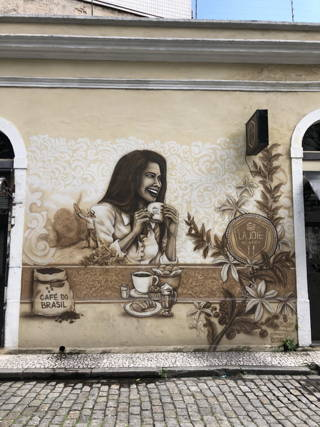 Wallart in Brasilien