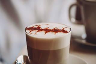 Chai Latte im Café Hom