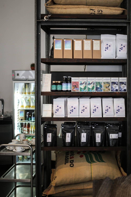 Kaffeeauswahl im Nano