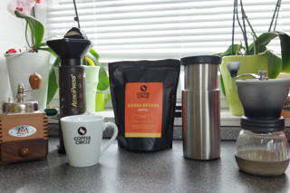 Wir testen unseren Sierra Nevada Kaffee