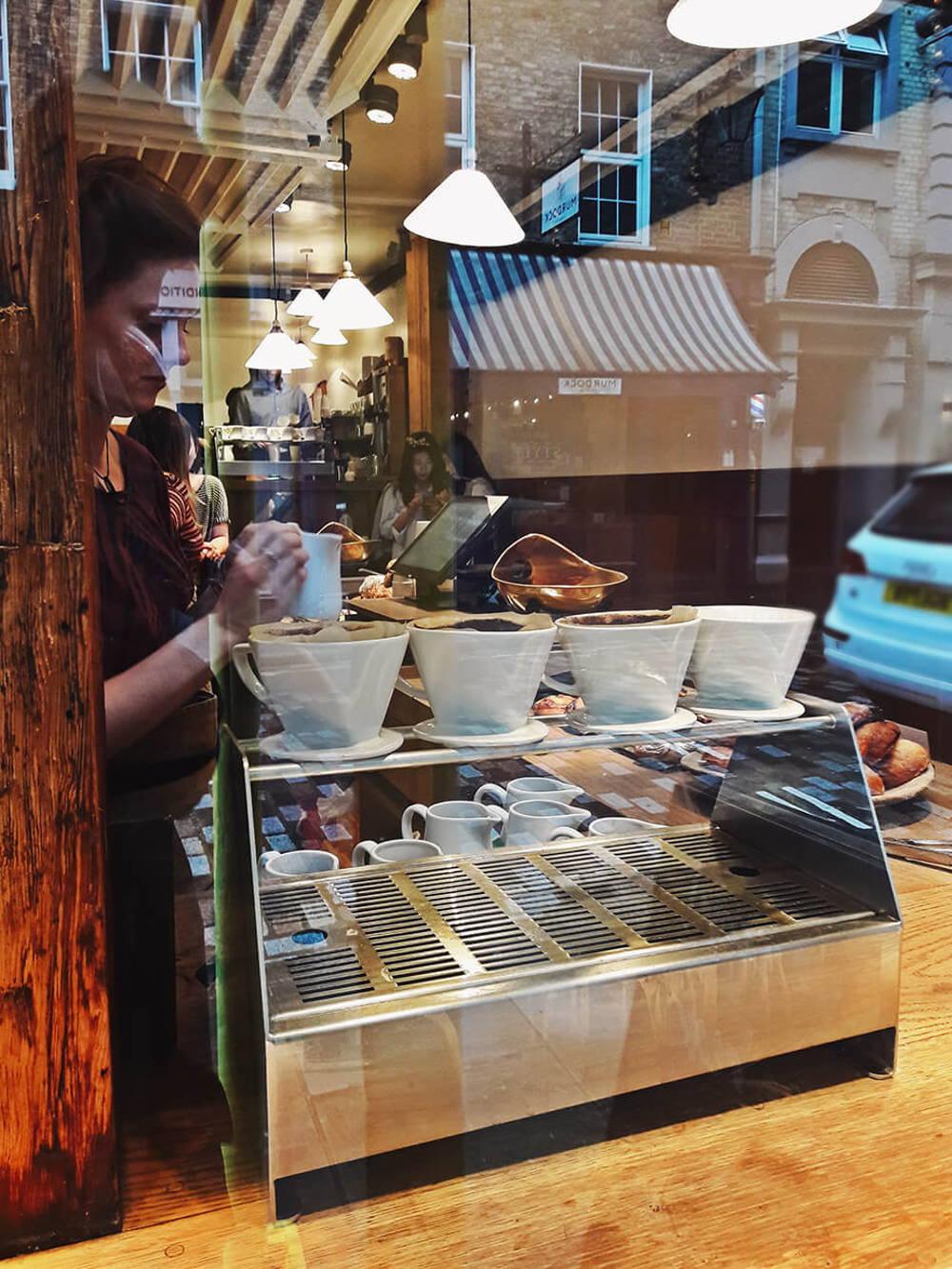 Filterkaffee im Monmouth
