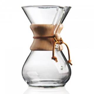 Chemex Kaffeekaraffe bis 6 Tassen